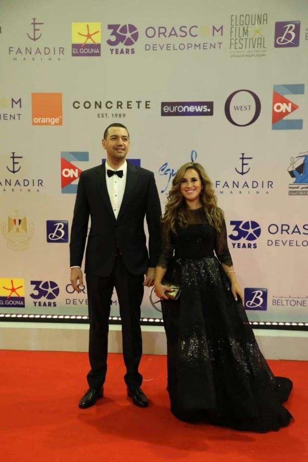 شيري عادل ومعز مسعود في مهرجان الجونة