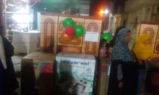 """توزيع 30 جهاز عروس لليتيمات في حفل """"شباب الخير"""" ببني سويف"""