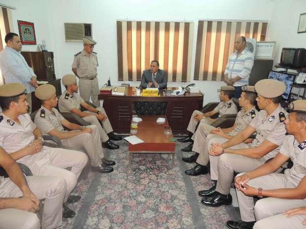 مدير أمن سوهاج يتفقد قسم شرطة ثان ومركز سوهاج