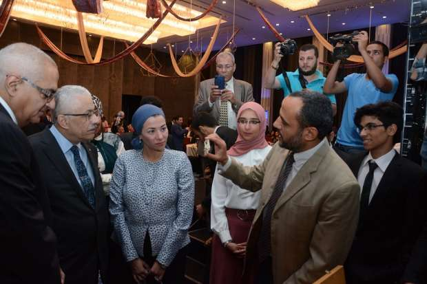 Photos | Opening of the Mansoura University Center for Spinal Exchanges in the presence of Shawki and Fouad