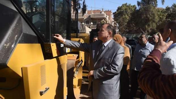 محافظ الفيوم يشدد على متابعة صيانة معدات مجلس المدينة استعدادا للشتاء