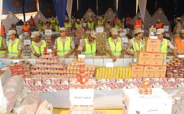 بالصور| القوات المسلحة توزع مليون حصة غذائية بالمناطق الأكثر احتياجا