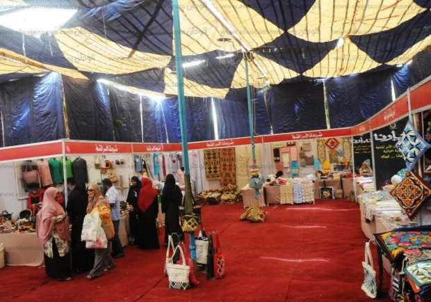 افتتاح معرض ديارنا لمنتجات الأسر المنتجة بأسوان