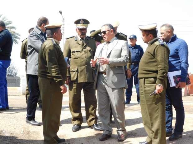 مدير أمن سوهاج يتفقد الخدمات الأمنية بمنطقة أبيدوس الأثرية