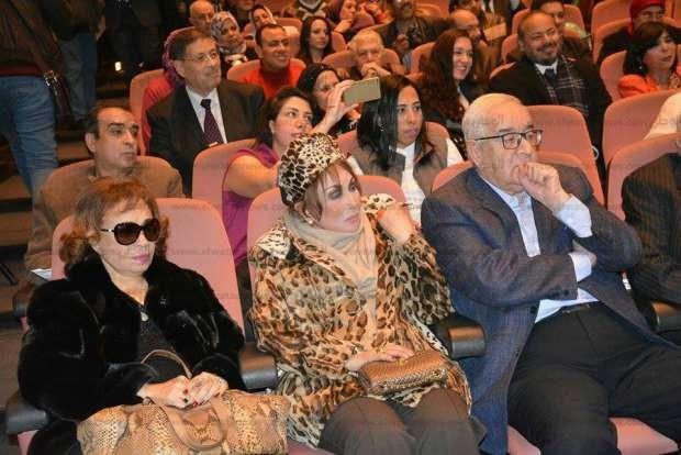 بالصور| بدء تكريم سمير صبري في الهيئة العامة لقصور الثقافة بحضور ليلى علوي