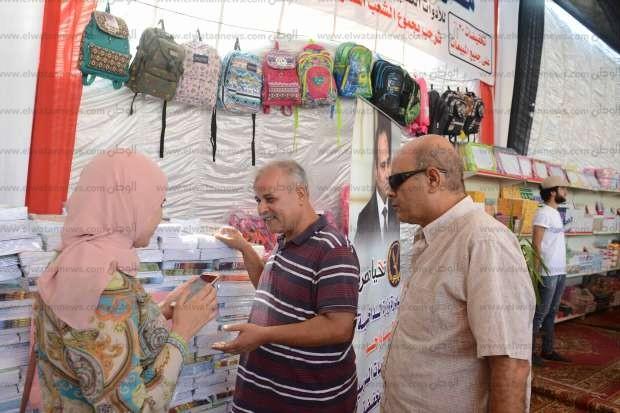 بالصور| مساعد وزير الداخلية يفتتح معرض «الفردوس» لمستلزمات المدارس