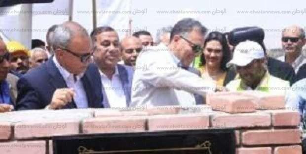 وزير النقل يفتتح كوبري قوص بقنا