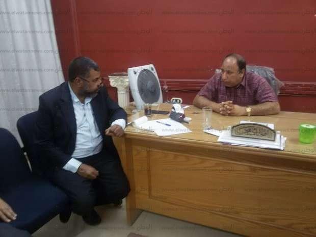"""مدير """"الرعاية العاجلة"""" بالشرقية يتفقد مستشفى أبو حماد المركزي"""
