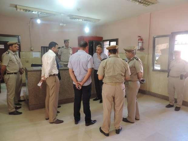 بالصور| «شلبي» يتفقد مركز شرطة إطسا في الفيوم
