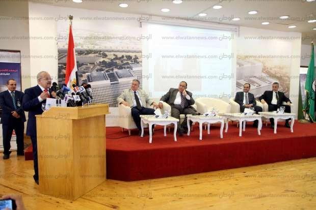 رؤساء الجامعات بمستشفي الأورام الجديدة بالشيخ زايد