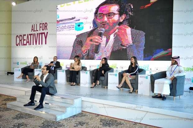جلسة دور السينما في مواجهة التطرف بمنتدى شباب العالم
