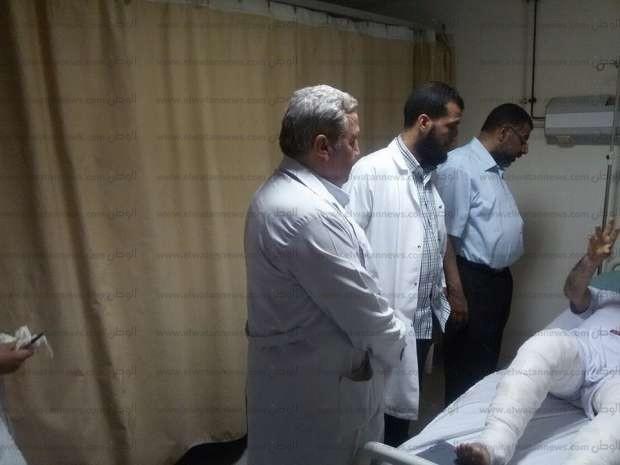 مدير الرعاية العاجلة بالشرقية يتفقد مستشفى بلبيس المركزي