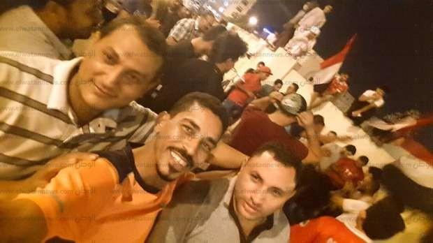 بالصور| الجالية المصرية بسلطنة عمان تحتفل بتأهل المنتخب لمونديال روسيا