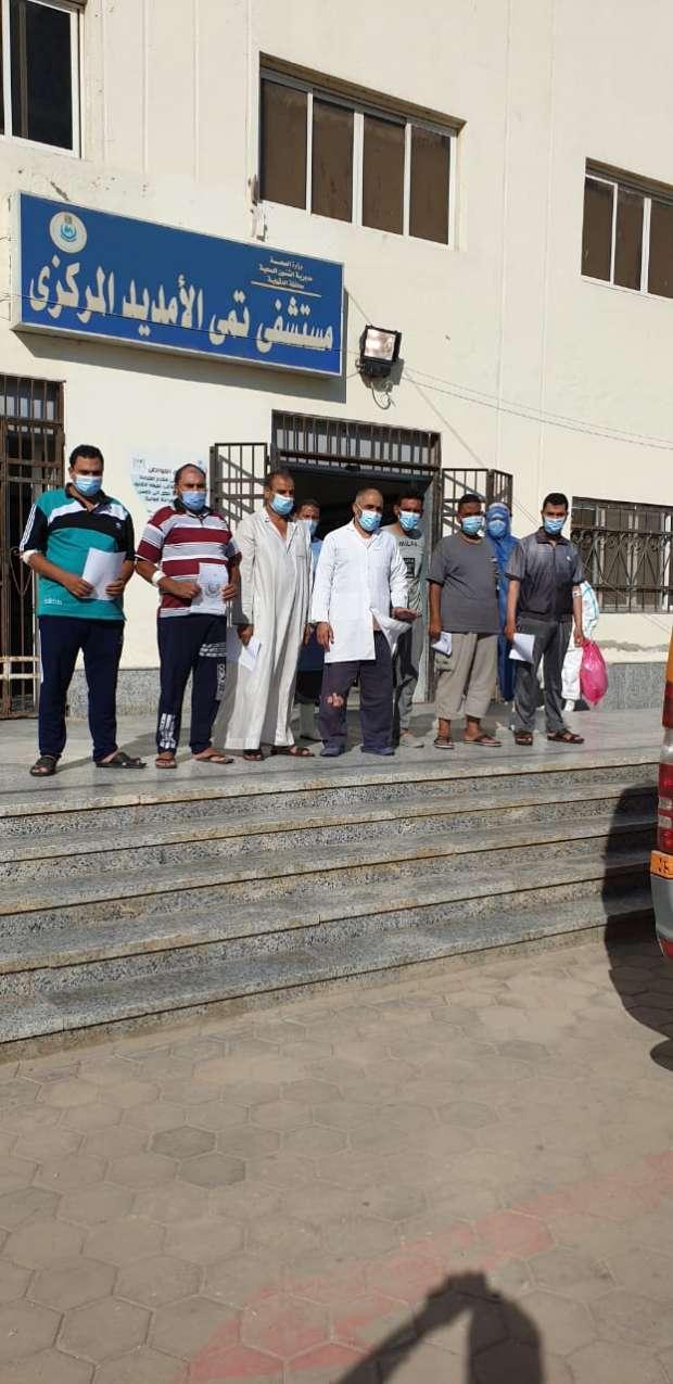 صحة الدقهلية: تعافي 535 مريضا بكورونا منذ بدء الجائحة
