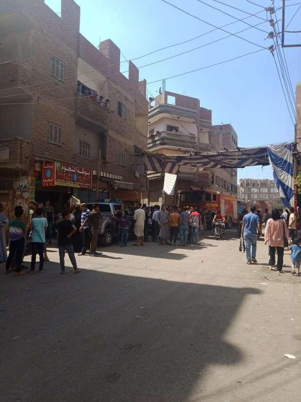 تعزيزات أمنية في أنشاص بعد سقوط قتيل وحريق خلال اشتباكات بين أسرتين