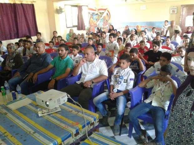 ندوات تثقيفية وأغاني وطنية باحتفالات بني سويف بذكرى ثورة 30 يونيو