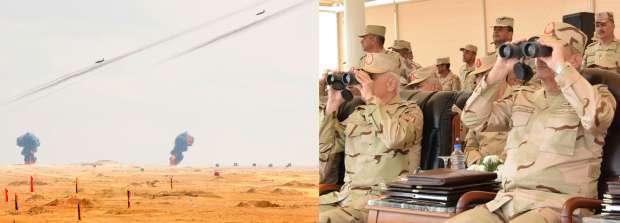 وزير الدفاع يشهد المرحلة الرئيسية للمناورة «فاتح- 26» بالذخيرة الحية