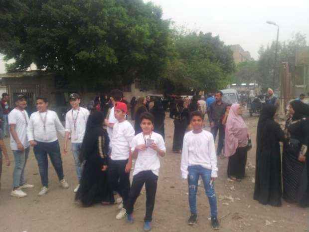 """مسؤولو """"مصر تناديكم"""" يدلون بأصواتهم في الانتخابات"""