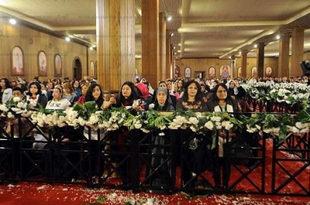 """السيسي يشهد قداس عيد الميلاد في كاتدرائية """"ميلاد المسيح"""" بالعاصمة الإدارية"""