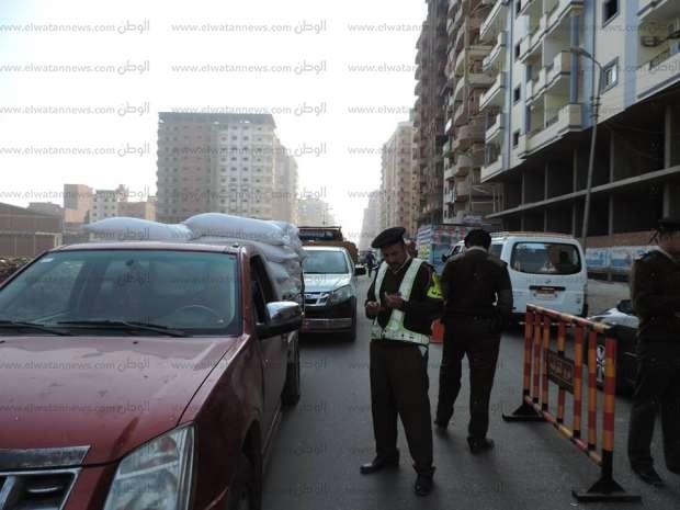 بالصور| مدير أمن الشرقية يقود حملة مرورية في أسبوع الانضباط