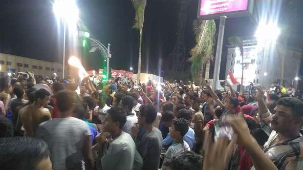 بالصور  الآلاف يحتشدون في ميادين الغردقة للاحتفال بالوصول للمونديال