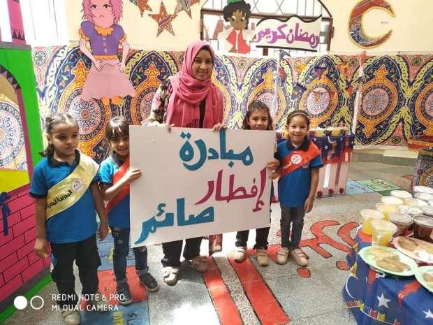 طلاب المدرسة المصرية اليابانية في السويس ينظمون مبادرة