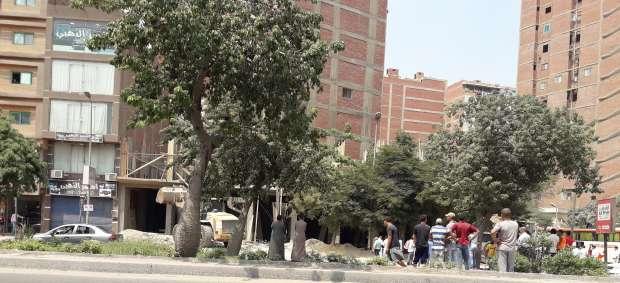 """إزالة عقارين مخالفين و120 حالة إشغال بـ""""ألف مسكن"""" وجسر السويس"""