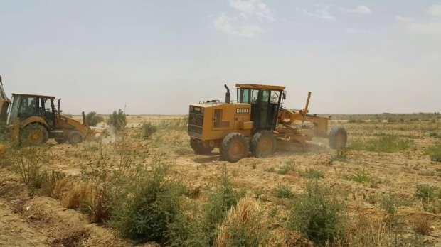 إزالة تعديات على مساحة 1267 فدانا و111310 أمتار مربعة بالفيوم