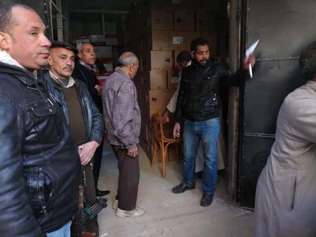 تسليم 16 ألف و641 تابلت لإدارت بني سويف تمهيدا لتوزيعها على الطلاب