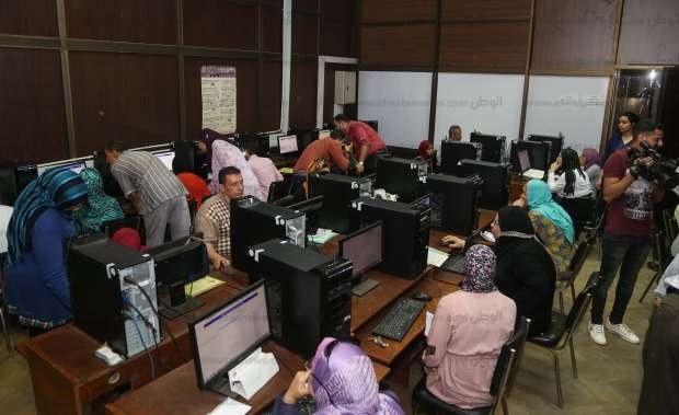 التنسيق الإلكتروني لطلبة الثانوية العامة بجامعة القاهرة