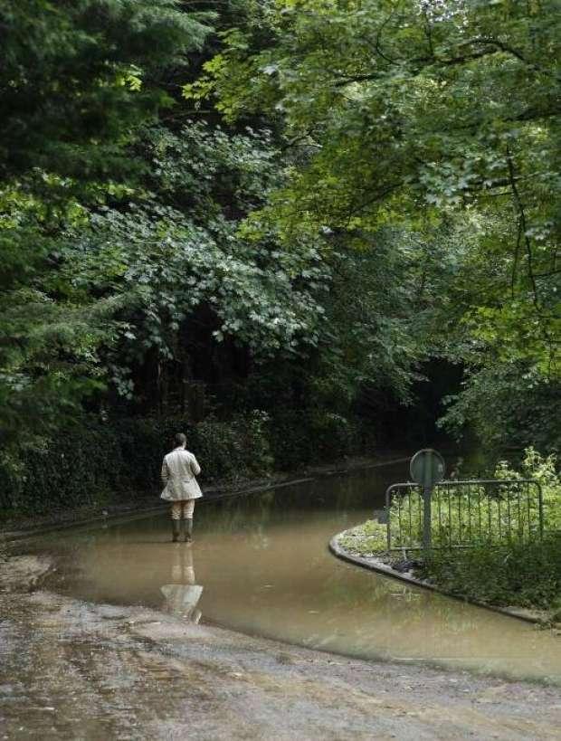 مياه الفيضانات تُغرق شوارع فرنسا
