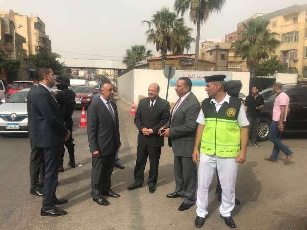 بالصور  قيادات «الداخلية» تتفقد الخدمات المرورية على طريق «الإسكندرية»