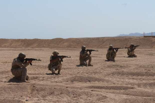 """استمرار فعاليات التدريب المصري السعودي المشترك """"تبوك 4"""""""