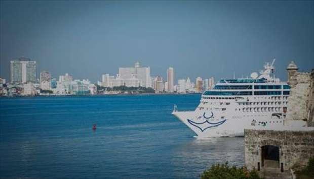 بالصور| وصول أول رحلة بحرية تنطلق من أمريكا إلى كوبا منذ 50 عام
