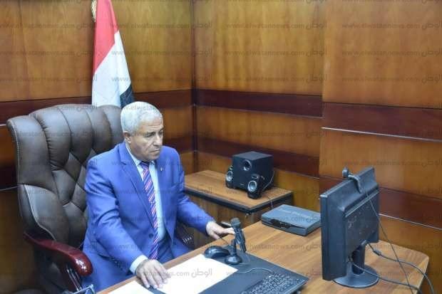 محافظ أسوان يعقد اجتماعا لمتابعة الاستفتاء على التعديلات الدستورية