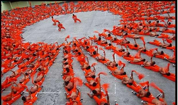 Image result for سجن الفلبين لتعليم الرقص الجماعي