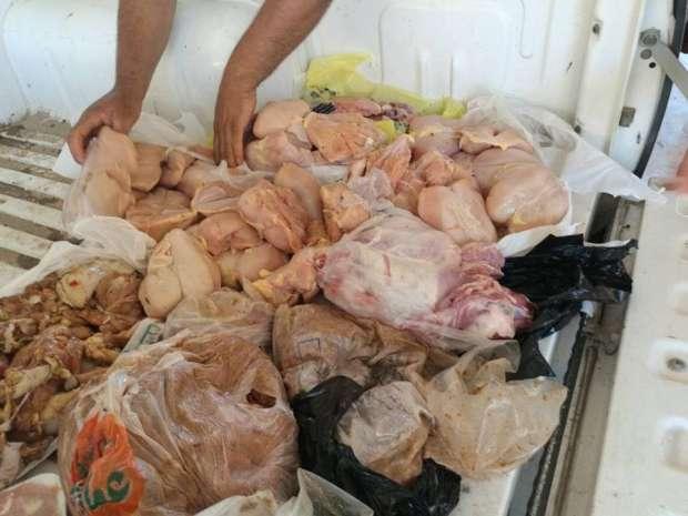 """""""تموين الفيوم"""": ضبط لحوم وصدور دجاج فاسدة لدى مطاعم بالمدينة"""