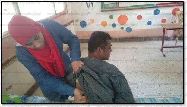 قافلة طبية تفحص 566 حالة بمركز دشنا في محافظة قنا