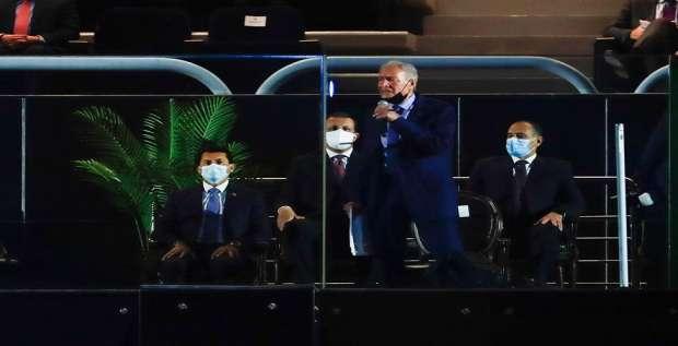 وزير الرياضة: حفل افتتاح مونديال اليد بحضور السيسي أبهر العالم