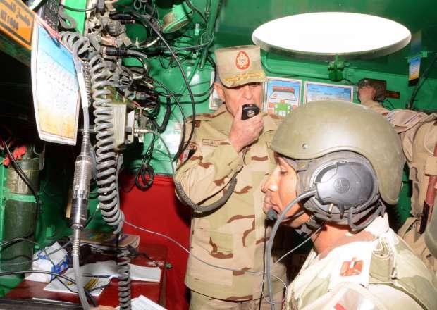 بالصور| رئيس الأركان يشهد المناورة «فاتح 26» ضمن التدريب القتالي لقوات الجيش