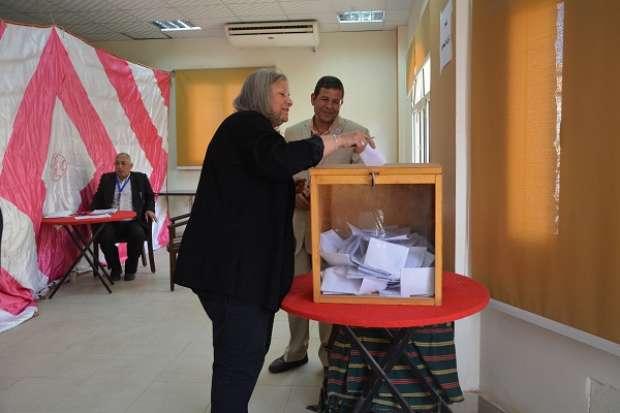 إعلان نتيجة انتخابات نادي أعضاء هيئة التدريس في جامعة الفيوم