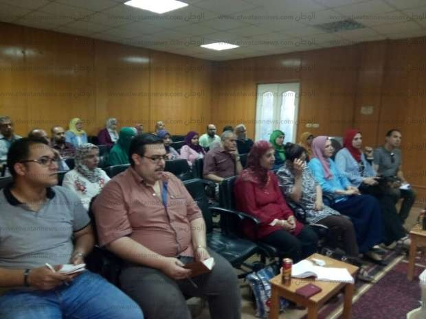 """اجتماع لـ""""صحة الشرقية"""" لبحث تطوير مستشفى فاقوس"""