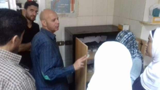 """وكيل """"صحة الشرقية"""" يتفقد مستشفى الحسينية المركزي"""