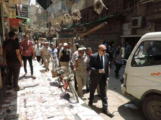 بالصور| مدير أمن الشرقية يقود حملة موسعة لإزالة الإشغالات بالزقازيق