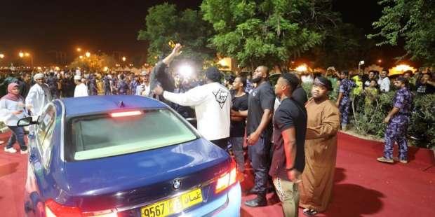 صور.. تامر حسني يشكر جمهور سلطنة عمان: