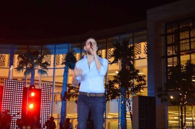 حسام حبيب يتألق في حفل مول مصر
