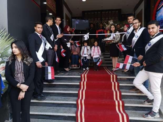 محافظ الشرقية يفتتح مستشفى حزب مستقبل وطن بالزقازيق