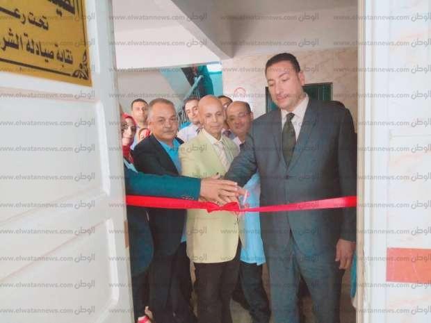 افتتاح قسم الصيدلة الإكلينيكية وتفعيل قسم السموم بمستشفى بلبيس المركزي