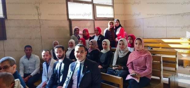 """طلاب """"حقوق بني سويف"""" يزورون مجمع المحاكم: تعليم وخبرة"""