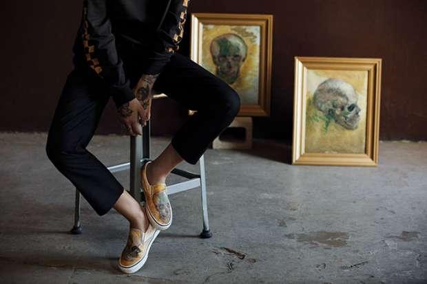 """بالصور  أحذية وحقائب وملابس مستوحاه من لوحات """"فان جوخ"""""""